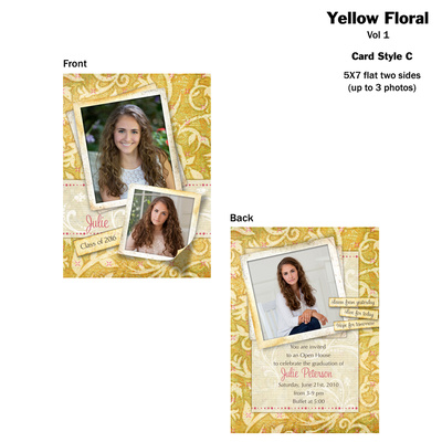 Yellow-Floral-Flat-Vol-1